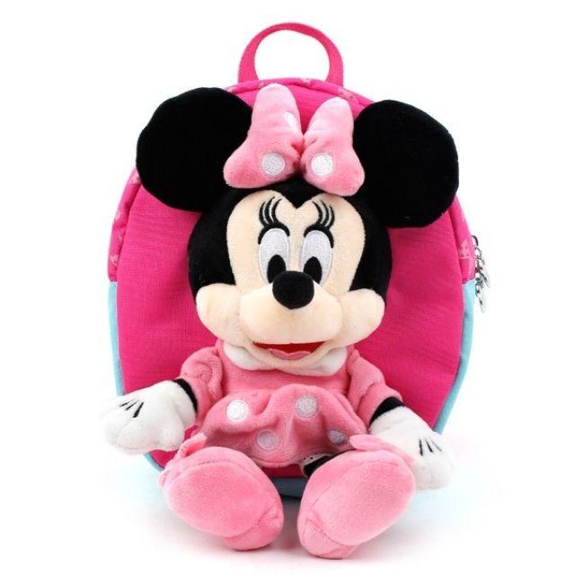 미니마우스 인형 미아방지 배낭 유아가방