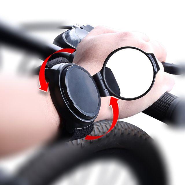 자전거 킥보드 360회전 손목 백미러