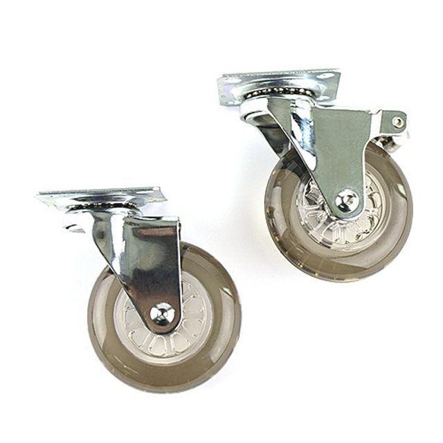 포윈바퀴 인라인 무소음 부드러운 회전 PVC 바퀴