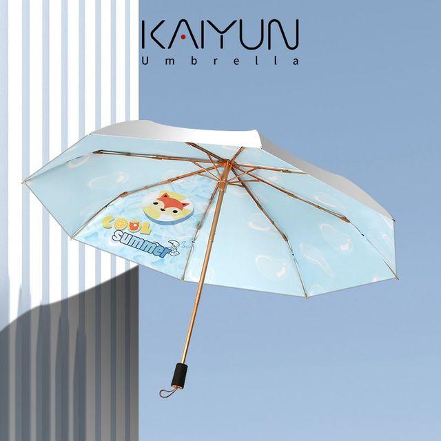 [해외] 패션소품 양산 방수 방풍 학생용 만화 우산