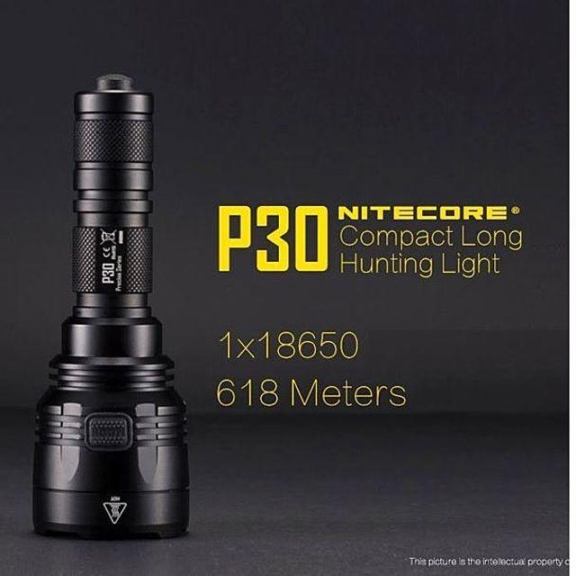 나이트코어 led 후레쉬 써치라이트 P30 밝은랜턴 사냥