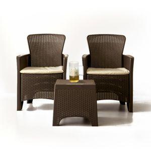 라탄테이블 의자세트 테라스 야외용 정원 루프탑 카페