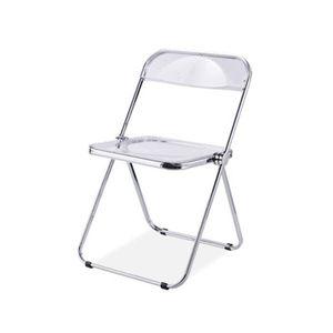 투명 접이식 의자