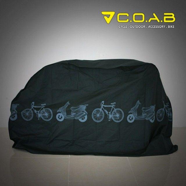COAB 자전거방수커버-블랙