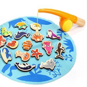아동 아이 교육 장난감 숫자 학습 바다 낚시 놀이