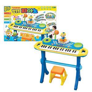 음악 악기 멜로디 연주 춤추는 뽀로로 피아노