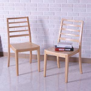 견고한 원목의자 우드 식탁의자 모던 인테리어 의자