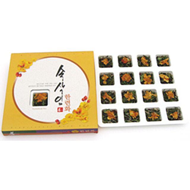 [더산쇼핑]프리미엄 속삭임 한련화차 16T 한련화차 허브차 전통차 꽃차 티타임 티백 차 tea 선물 집들이