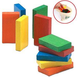 가족 취미 도미노 블럭 게임 놀이 창의력 발달