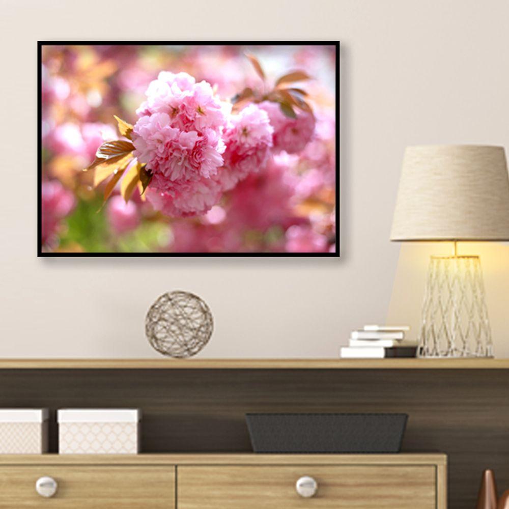 사진 인테리어 액자 벽걸이 꽃사진 작품 A3블랙AL1
