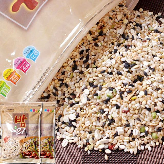 국내산 밤혼합 잡곡 건강한 밥상 집밥 곡류 선물 2kg