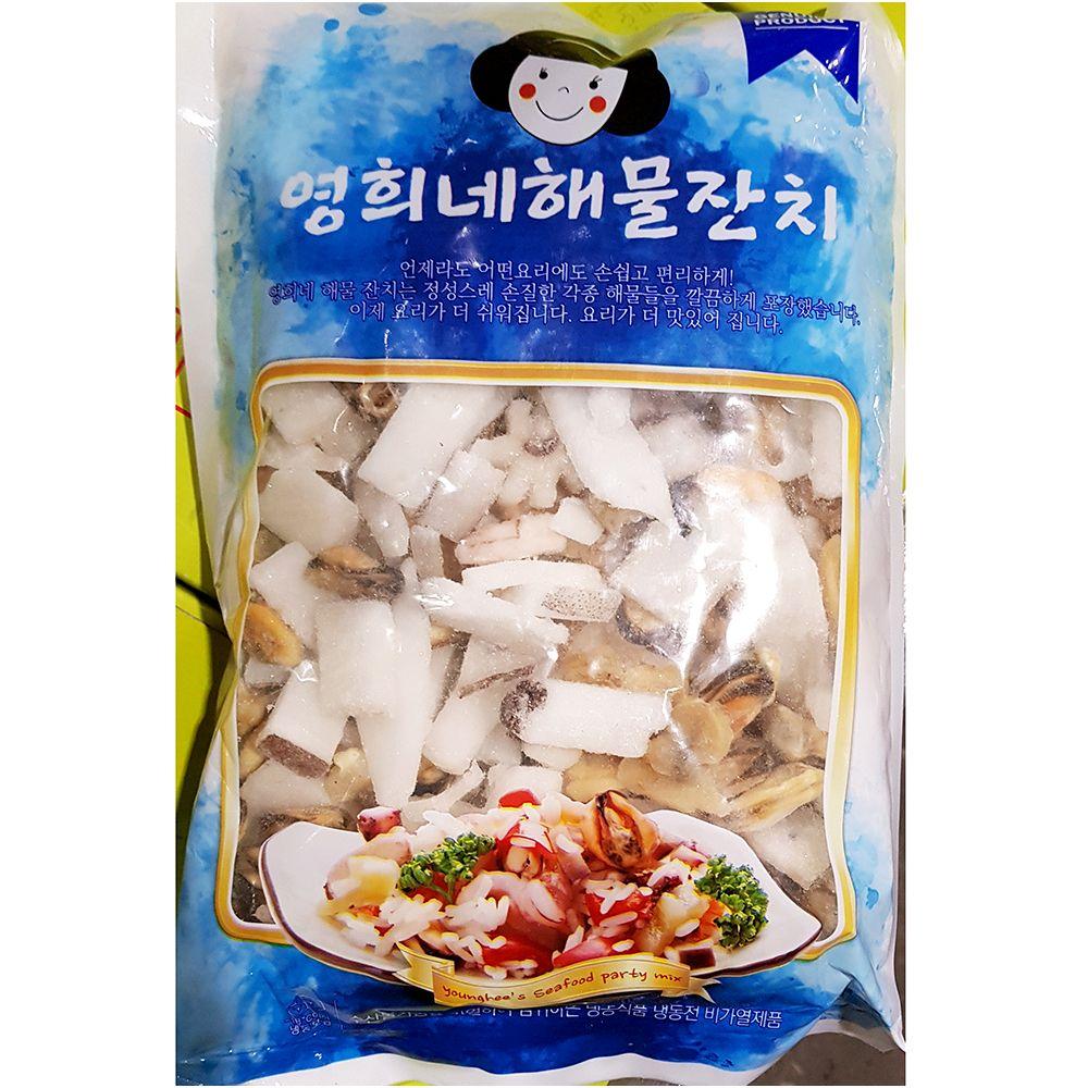 간편 즉석 조리식품 영희네 해물모듬 700g_1 EA,해물모듬,냉동수산물,수산물,냉동식자재,업소용식자재