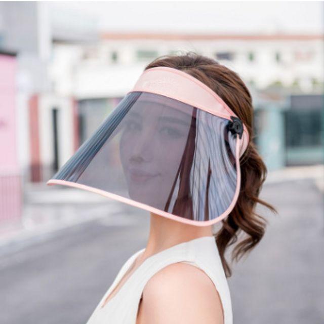W 자외선 차단 선캡 모자 챙넓은모자 여름모자