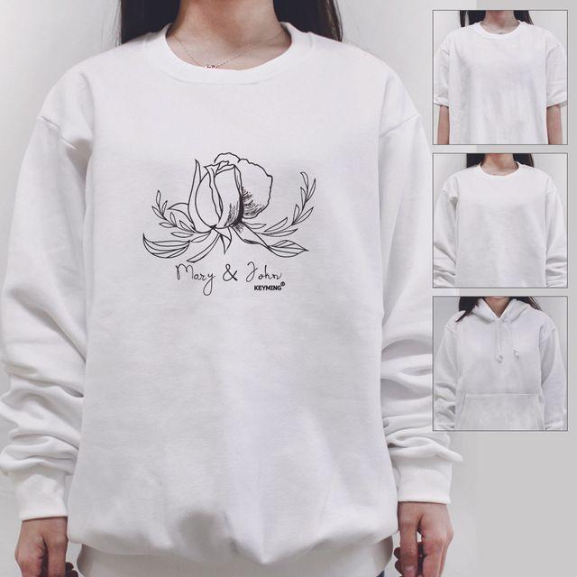W 키밍 mary n jone 여성 남성 티셔츠 후드 맨투맨 반팔