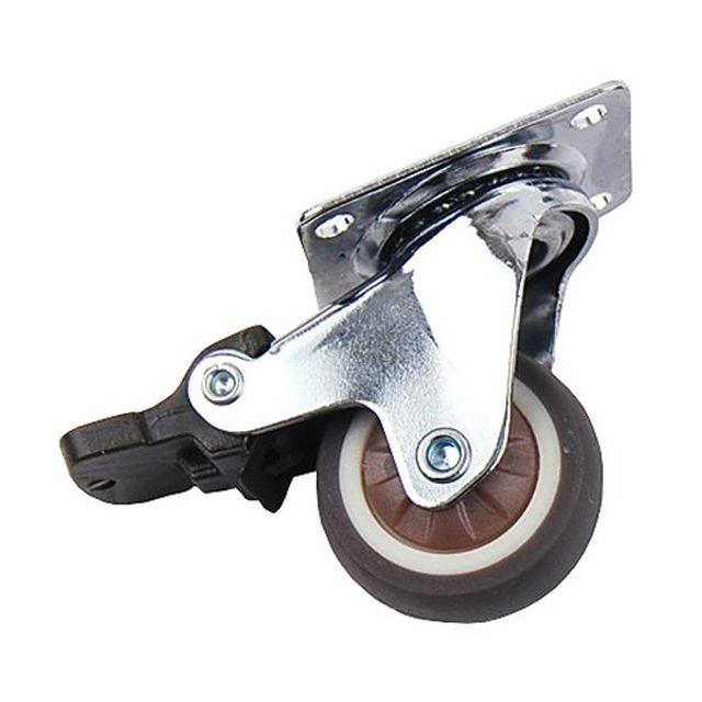 TPR바퀴 스톱 1.25in 가구 의자 책상 DIY 이동식