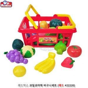 레드박스 과일 야채 바구니 세트 장난감 완구