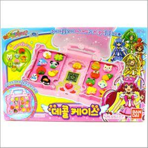 스마일 프리큐어 데콜 케이스 어린이 놀이 장난감