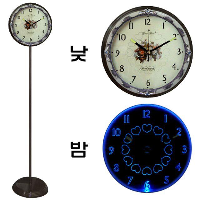 韩国直邮GB 600022单面就寝灯时钟 蓝光灯