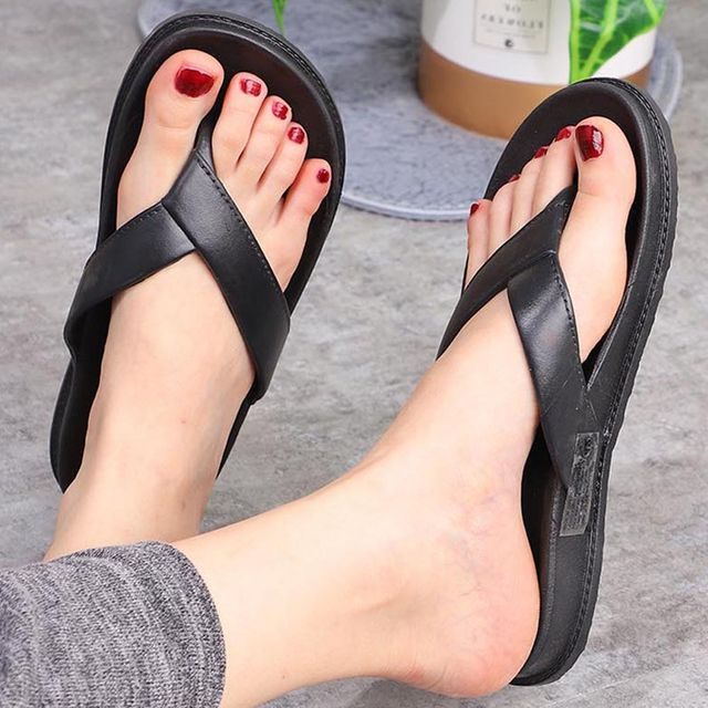 W 남자 여자 조리 커플 여름신발 슬림 쪼리샌들 일반형