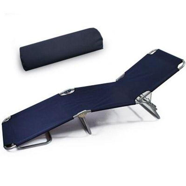 캠핑 다용도 접이식 간이 침대 겸용 의자