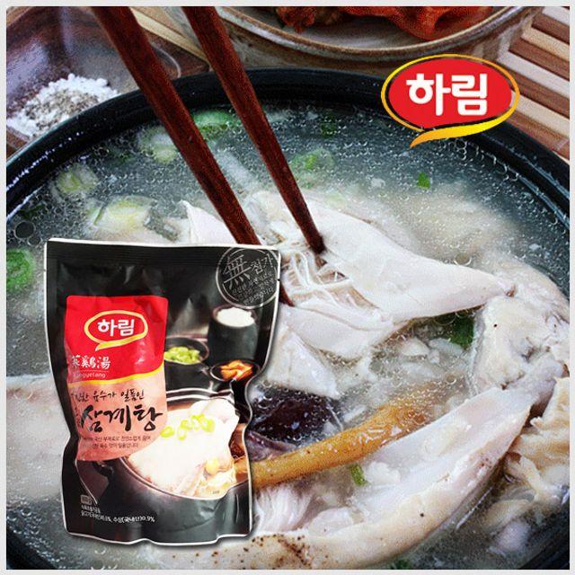 하림 고향삼계탕 800g /한마리/복날/영양식