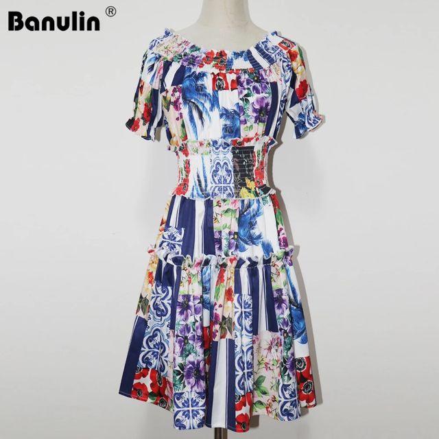 [해외] Banulin 2021 여름 패션 활주로 홀리데이 비치 드레스