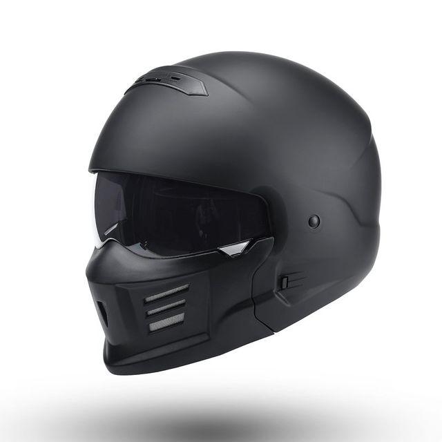 [해외] 전갈 스타일 오토바이 복고풍 할리 헬멧