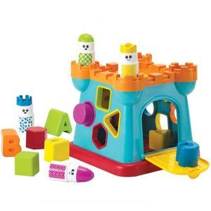 유아 놀이학습 도형 끼우기 장난감 감각 소근육 발달