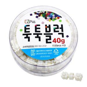 이지 툭툭블럭 40g (관절블럭_흰색)/3매