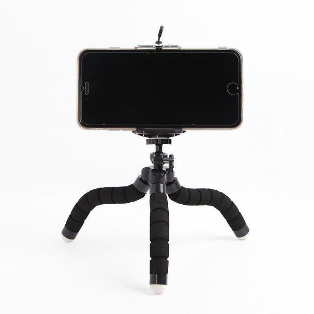 블랙 스파이더 스마트폰 삼각대 휴대폰거치대 셀카
