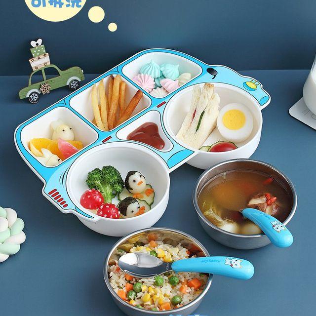 [해외] 주방용품 식판 여운 가정용 어린이 칼 세트