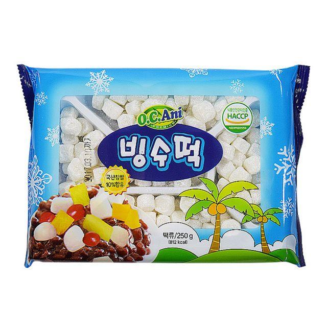 오씨아니(상도) 빙수떡 250gx4개,오씨아니,빙수,빙수떡,오씨아니빙수떡,상도