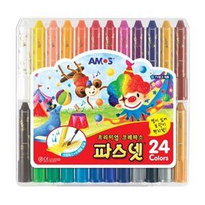 파스넷 크레파스 24색 초등학생 선물 준비물 크레용