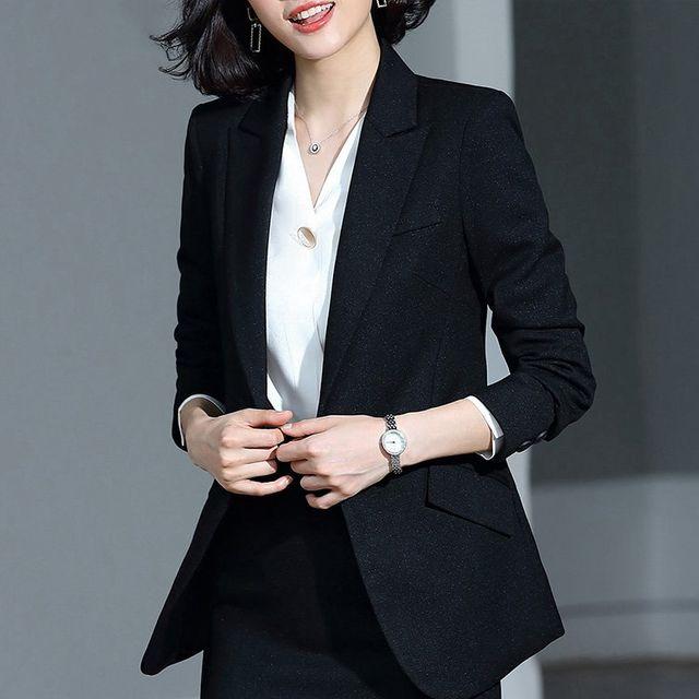 [해외] 여성 패션 재킷 자켓 정장세트 마모 OL 작업복