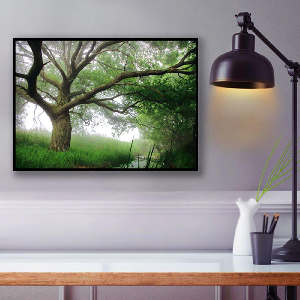 사진 인테리어 액자  자연 풍경 작품사진  A3블랙AL1