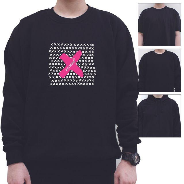 W 키밍 엑스 X 여성 남성 티셔츠 후드 맨투맨 반팔