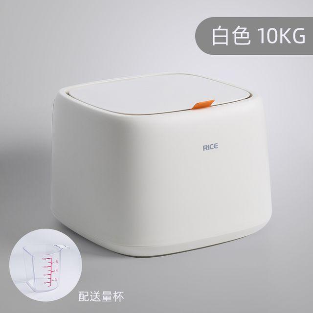 [해외] 북유럽 쌀통 10kg 방습 밀폐 가정용 쌀 저장 상자