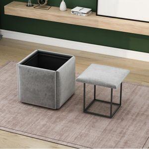 키밍 5in1 큐브스툴 변신 식탁 거실 의자 인테리어