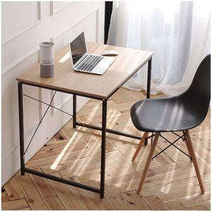 철제원목 미니책상80 베이직테이블 견고함 심플