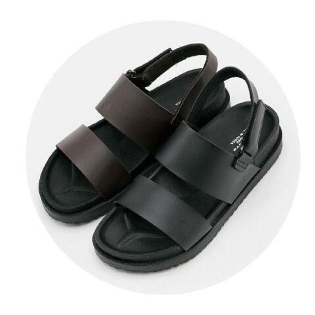 W 국산 남성 샌달 샌들 스포츠 여름 신발 샌달 2색 OR