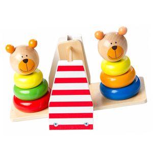 도형 끼우기 시소놀이 교구 어린이집 놀이 장난감