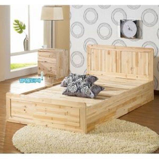 [현재분류명],자연친화 피톤치드삼나무 침대(슈퍼싱글),침대,싱글침대,삼나무침대