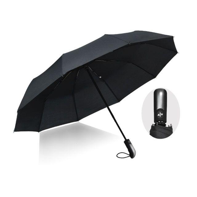 클래식 3단 자동우산 무지우산