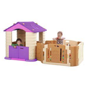 어린이 공간놀이 에듀플레이 하우스 A+B 바이올렛