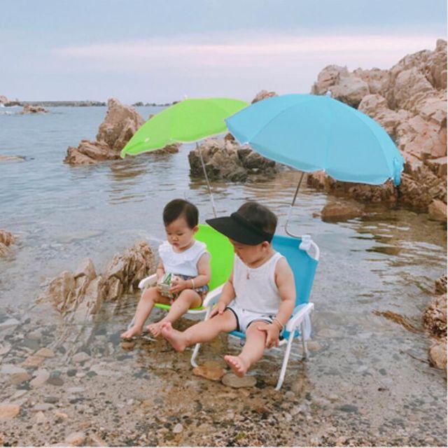 [해외] 나들이 어린이 휴대용 접이식의자 바캉스 여름휴가