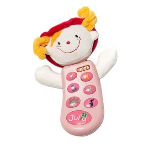 유아완구 멜로디장난감 말하는전화기 줄리아 녹음