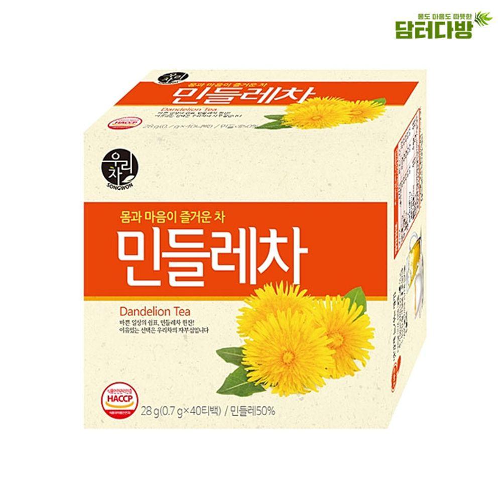 송원 민들레차 40T