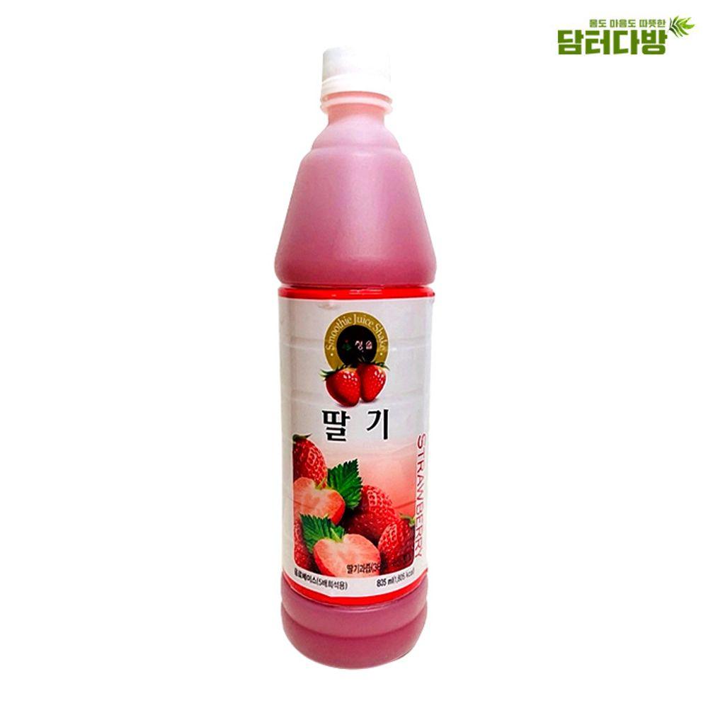 청솔 딸기원액 835ml