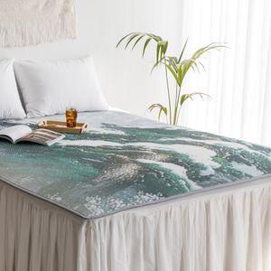 신소재 3D매쉬매트 침대매트 (더블) 소나무
