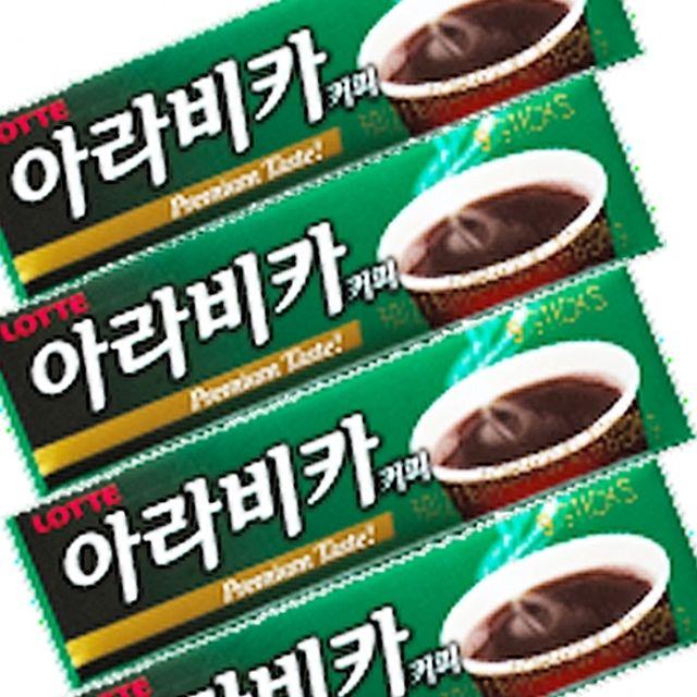 롯데)아라비카 커피껌 26g x 30개 깊고 풍부한 아라비카 커피향의 껌,껌,코피,달콤,향기,커피